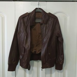 Real leather bomber jacket Boutique of Leathers